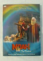 Noah The Musical Sight and Sound Theaters DVD - Sealed