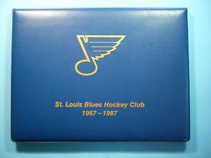 1967-1987-ST-LOUIS-BLUES-HOCKEY-CLUB-TEAM-PHOTO-FOLIO-JACQUES-PLANTE-GLENN-HALL
