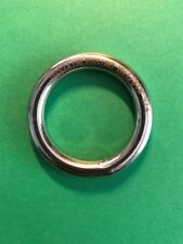 "Grade 316 Stainless Steel Marine Round Ring 4 mm x 40 mm 3//16/"" x 1 5//8/"""
