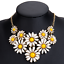 Bohemia-Women-Choker-Chunky-Statement-Bib-Alloy-Charm-Pendant-Necklace-Jewelry thumbnail 9