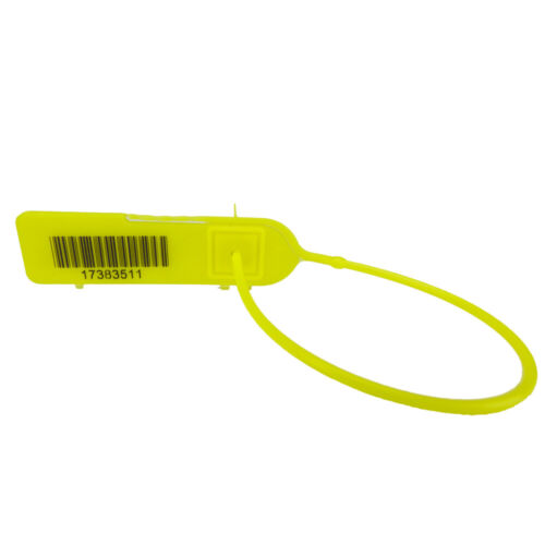 100 Seals Pull-Tight Barcode Security Seals 8/'/'