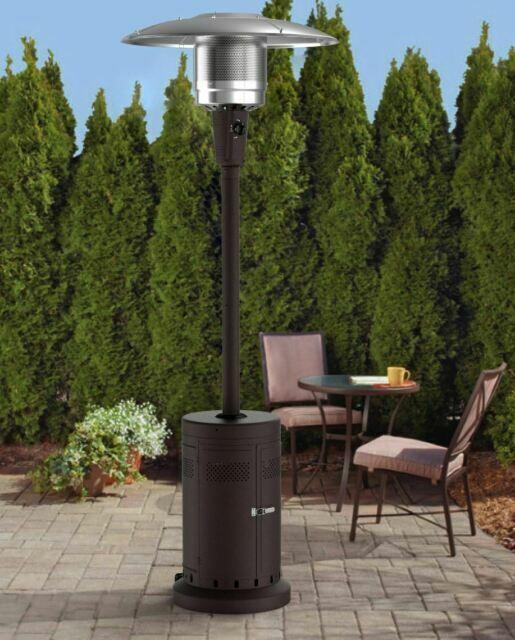 large outdoor propane patio heater 40000 btu
