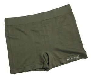 Olive Green Boxer Shorts - Men's Trunks Underwear Army Military New