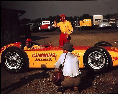 GEORGE TICHENOR ROOKIE 1952 INDY 500 8 X 10 PHOTO