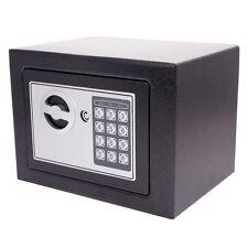 High Quality 17E Small Black Digital Electronic Safe Box Keypad Lock Home Black