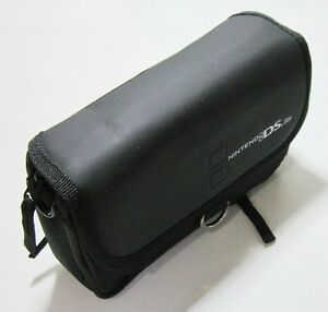 Stylish-Shoulder-Sling-Waist-Carrying-Pouch-Bag-For-Nintendo-DS-Lite-Black