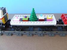 Custom Lego Christmas Holiday Train Car Built with NEW Bricks fits 10254 10173