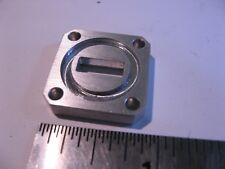 Wr42 Cover Groove Waveguide Flange 316 Thick Alum 332 Butt Rf Microwave Nos