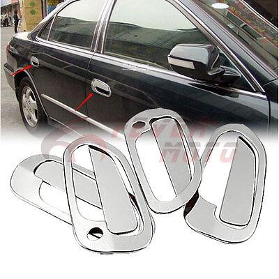 For 1998-2002 Honda Accord Sedan Stainless Steel Chrome Door Handle Cover New FM