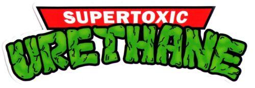 Super Toxic Urethane Ninja Turtles Logo Skateboard Sticker skate snow surf