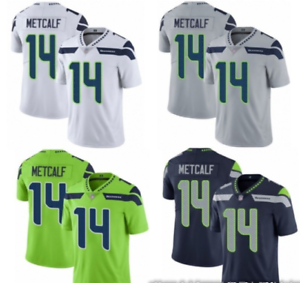 NFL Men/'s T-Shirt Seattle Seahawks Football Stitched Jersey Seahawks14 #Jersey