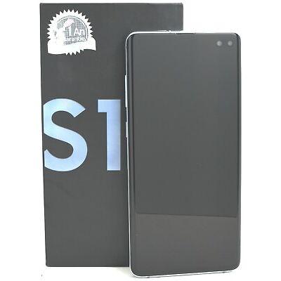 USED - Samsung Galaxy S10+ Plus 128GB SM-G975F/DS Dual (FACTORY UNLOCKED) Blue