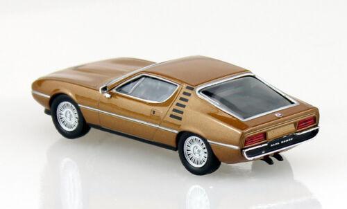 Alfa Romeo Montreal bronze Blister 1:43 Ixo//Altaya Modellauto