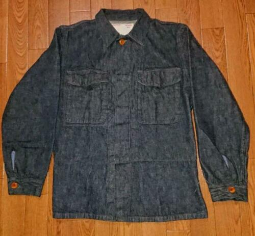 Mister Freedom 9.7oz. Jacket Indigo Color Size S U