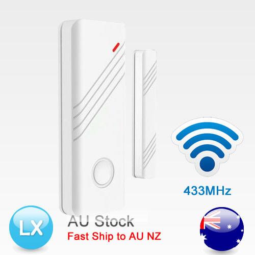 New 433Mhz Wireless Door/Window Sensor Detector Magnetic Contact Security Alarm