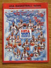 USA BASKETBALL Jul 94 DREAM TEAM II Magazine SHAQUILLE O'NEAL DOMINIQUE WILKINS
