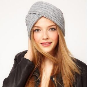 132a6559032fa New Fashion Women s Knitted Turban Hats Cute Beanies Cross India ...