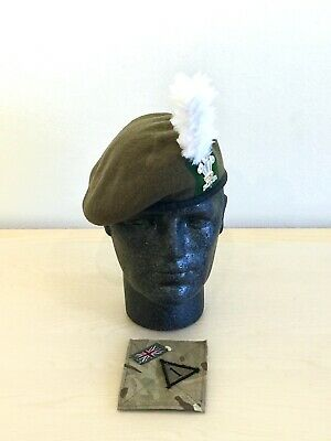 MILITARY INSIGNIA GREEN BERET BRAND NEW ABOUT A SIZE 7 1//8 UNMARKED