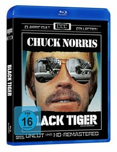 Buenos-DESGASTE-Negro-Tiger-Blu-ray-1978-Chuck-Norris-pelicula-de-importacion-clasica