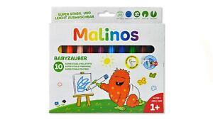 Malinos-Babyzauber-ab-1-Jahr-10-Malstifte-NEU