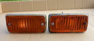 CLASSIC FORD ESCORT MK1 FRONT INDICATOR LIGHTS LAMPS.