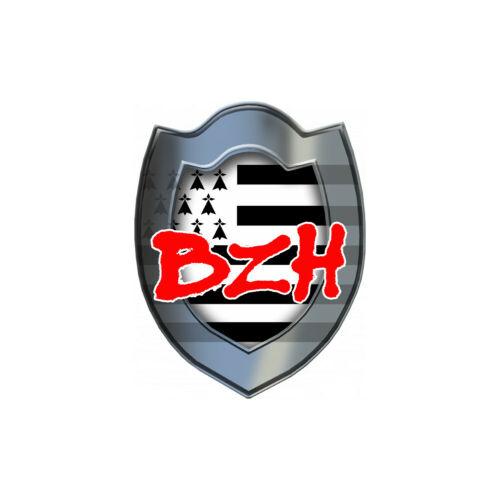 Bouclier BZH Autocollants