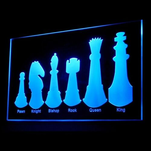 230036 Chess Chequered surface Chequered surface Battle Royal LED Light Sign