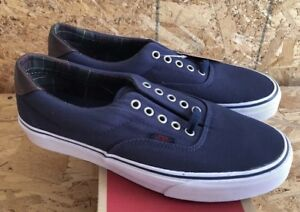 ce454d33d1 Vans Era 59 Plaid Dress Blues Sz Men s 9  Women s 10.5 NIB