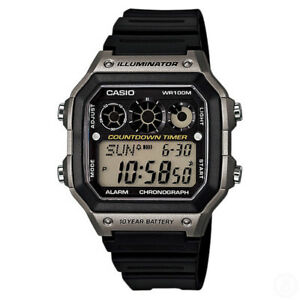 CASIO-World-Time-Illuminator-Chronograph-Digital-Classic-Watch-AE-1300WH-8A