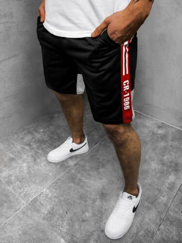 Kurzhose Sporthose Jogging Fitness Unifarben Sportshorts Herren OZONEE KS2501Z