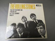 1964 The ROLLING STONES S/T UK 45 Mono Decca DFE 8560 EX/VG+ Pic Sleeve EP