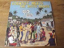Scientist Meets  The Roots Radics   BLUE Vinyl LP   Selena                  244