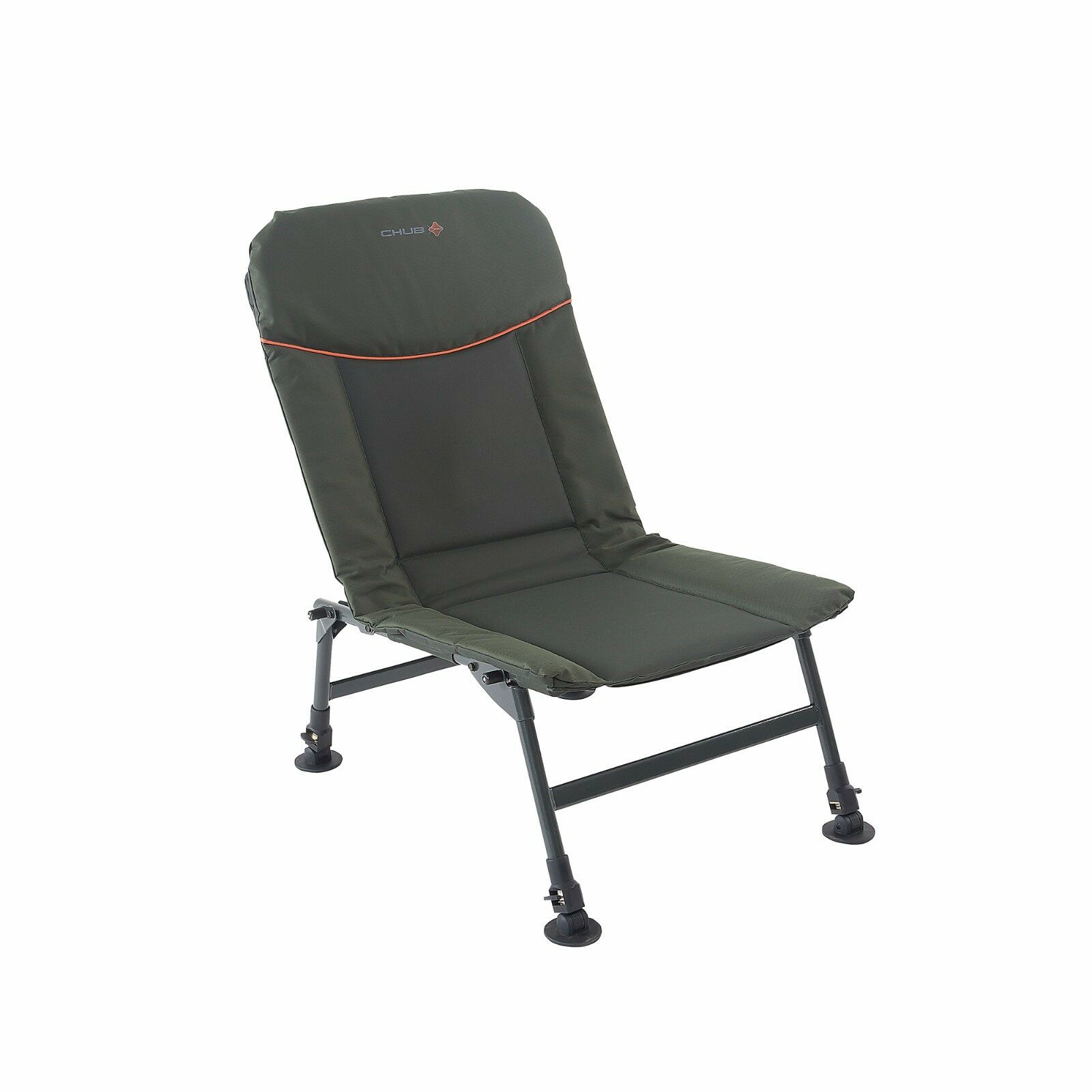 Chub RS-Plus Chair - Fully Adjustable, Robust, Folding Fishing Seat