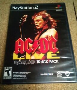 AC-DC-Live-ROCK-BAND-Track-Pack-Sony-PlayStation-2-2008-BRAND-NEW-NIP