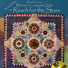 NEW BOOK: Mariners Compass Quilts 2nd Edition By Brenda Henning: Includes CD