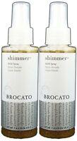 Brocato Shimmer Gold Spray 4.3oz Pack Of 2