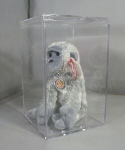 Ty Beanie Baby of the Month Virunga from June 2003 with Case