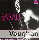 The Jazz Biography by Sarah Vaughan (CD, Oct-2004, United Multimedia)