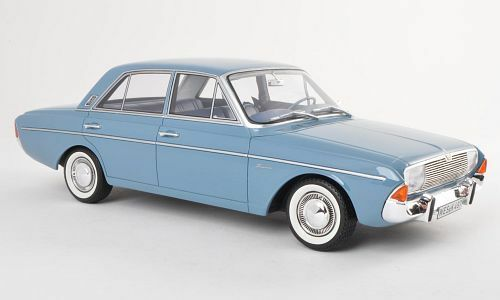 BOS 1965 FORD TAUNUS 20 M (P5) bleu clair 1 18 SCALE limited edition 1000 rare à trouver  objet neuf