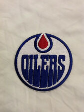 Edmonton Oilers Logo NHL Hockey Canada Hat Embroidered Iron On Jersey Patch