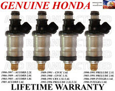 OEM 4X Fuel Injectors for Honda Accord Civic CRX Prelude Integra 1.6L 2.0L 2.2L