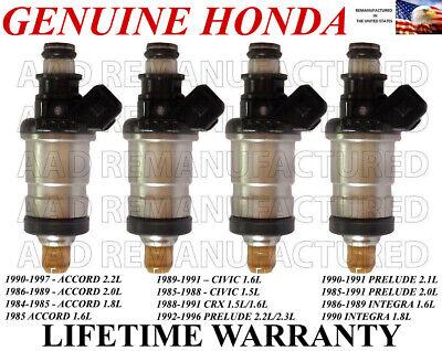 4 *Best Upgrade* 88-89 2.0 Celica Flow Matched Genuine BOSCH Fuel Injector Set