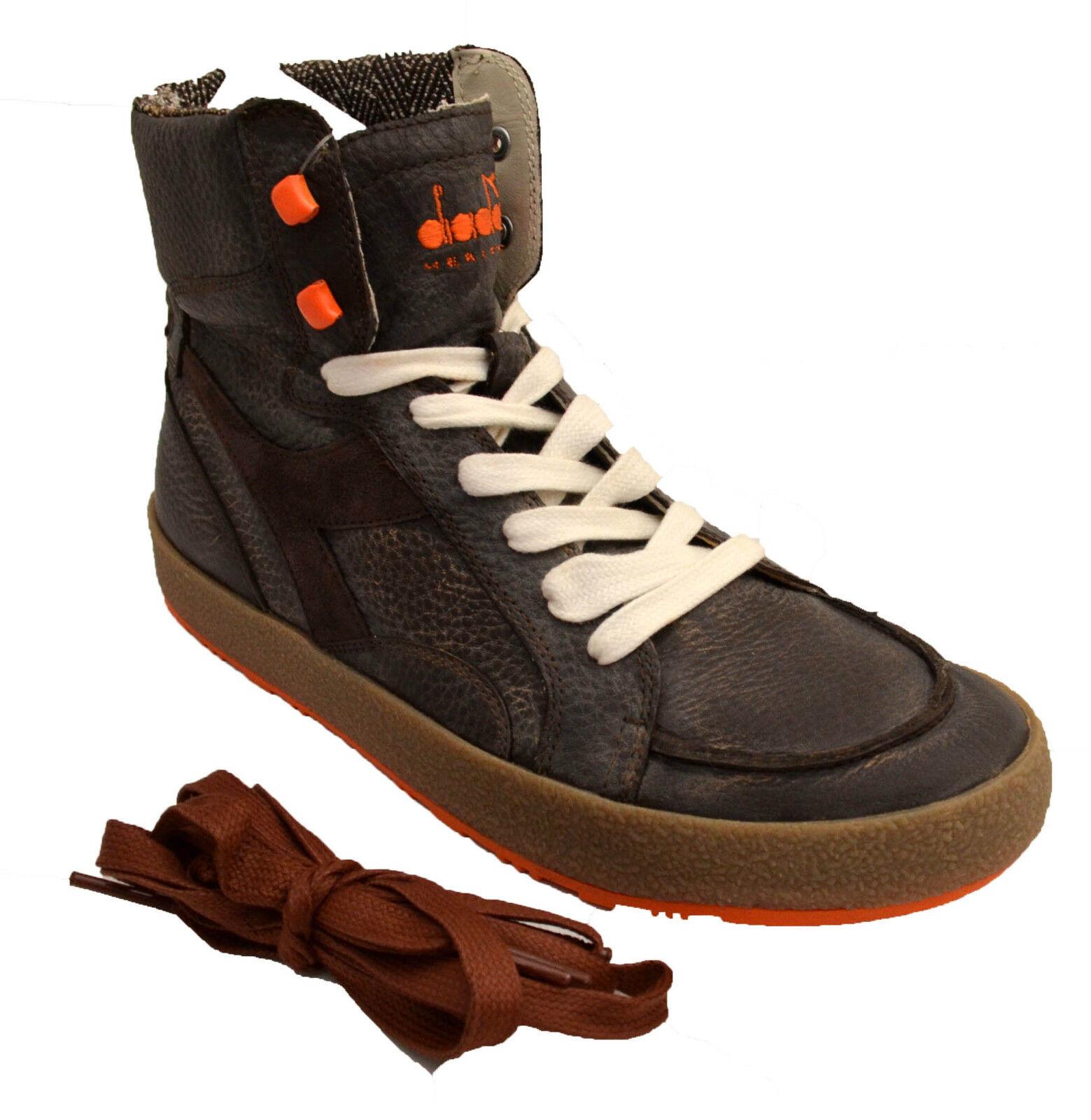 Diadora Heritage shoes sneakers Pelle Vintage shoes women Women men 158919 Bak