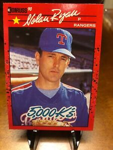 "1990 Donruss Nolan Ryan #659 Error Card. no period after ""Inc"" Don't overpay!"