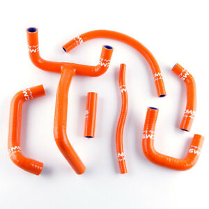 Orange For KTM LC4 620 625 640 660 Silicone Radiator Coolant
