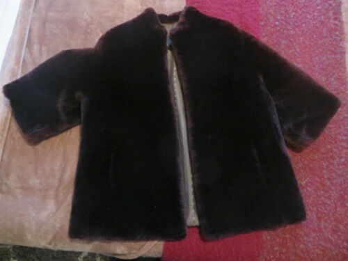 VINTAGE Kerrybrooke Shearling Sheep Mouton Fur Coa