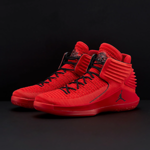 Nike Air Jordan 32 XXXII Rosso Corsa Gym Red Size 12.5. AA1253-601 banned bred