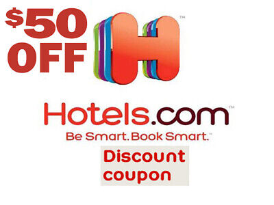 Hotels com promo code $50 off $200+ Hotels com Hotel Discount codes Save  Travel | eBay