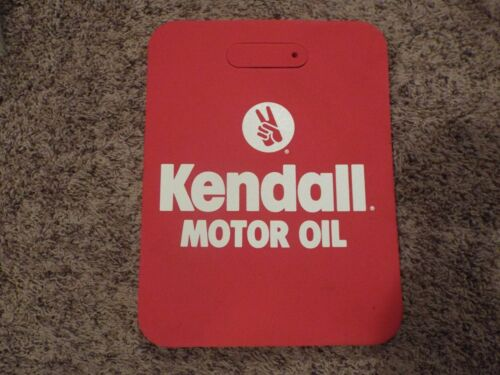 """KENDALL MOTOR OIL SEAT CUSHION NEVER USED CLEAN NEW SHAPE 12/""""X15/""""X1/"""""""