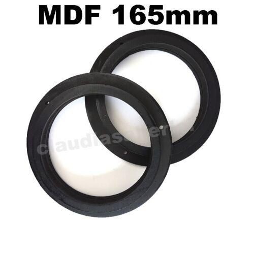 Adaptador altavoces anillos MDF 165mm para mercedes B w245 puertas frontales